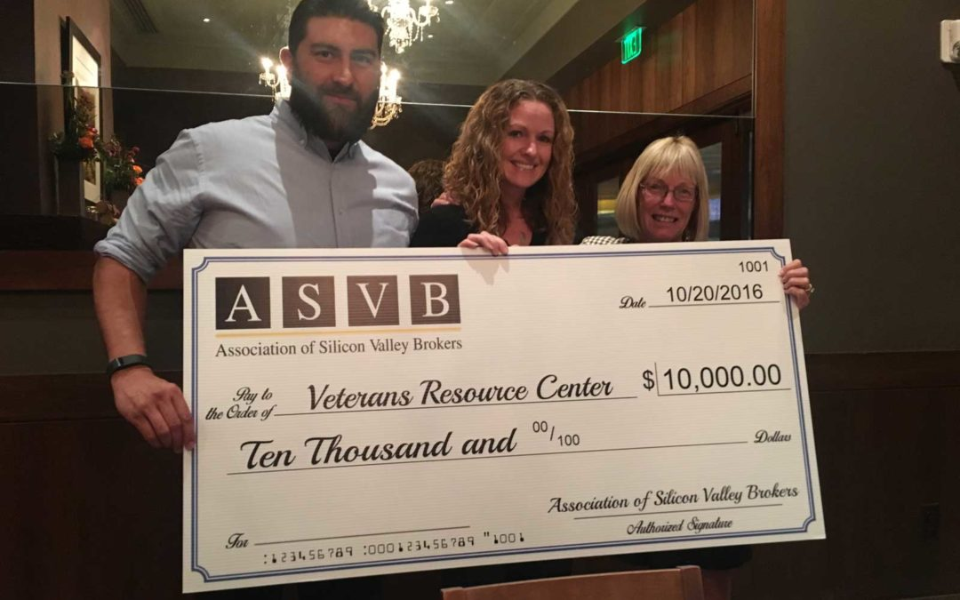 ASVB Donates $10,000 to Veterans Resource Center