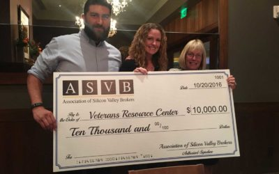 ASVB Donates $10,000 to Veterans Resource Center
